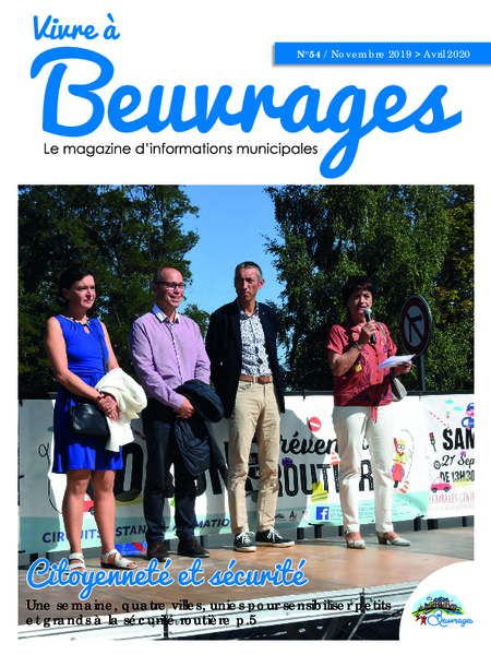 Magazine d'informations municipales n°54
